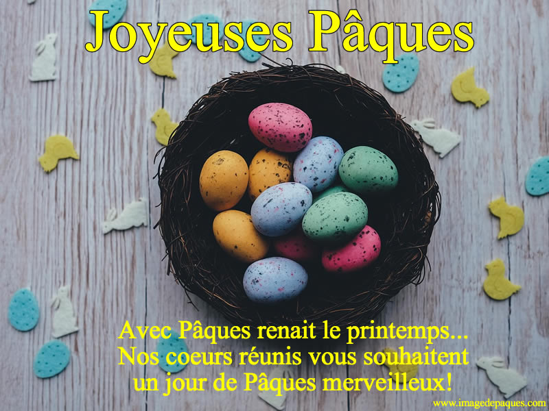 Merveilleux Pâques