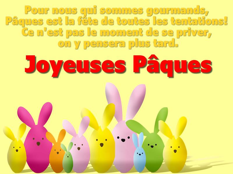 Voeux de Joyeuses Pâques